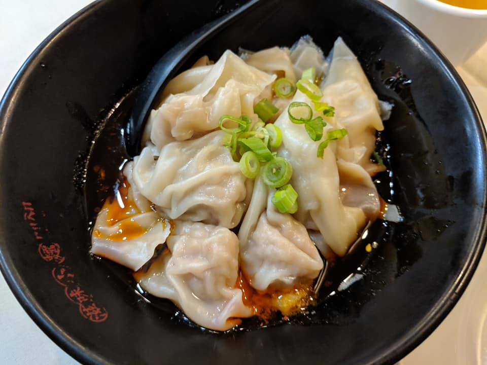 Wontons In Spicy Sauce from Chengdu Taste